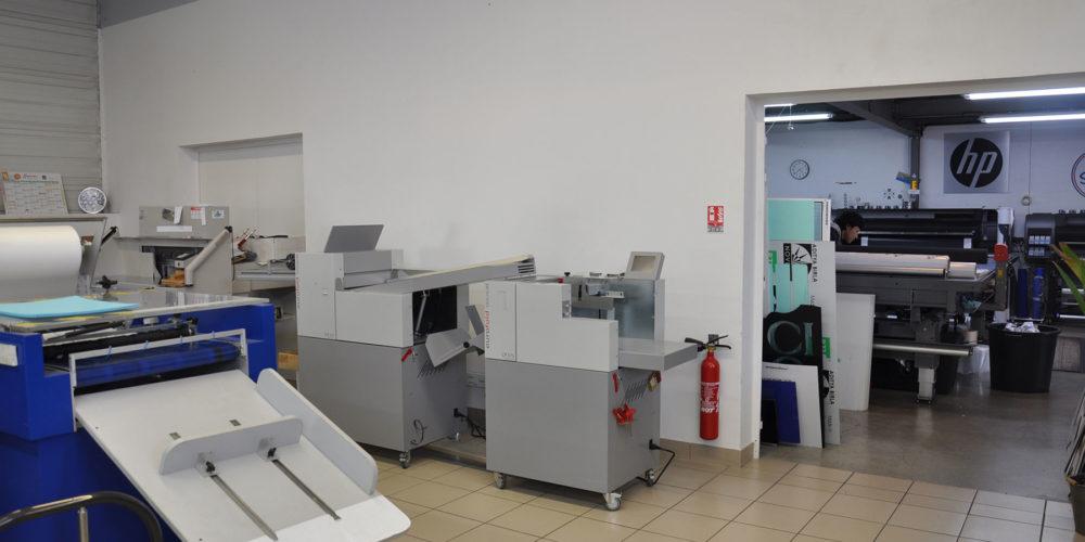 Imprimerie numérique à Nîmes Atelier