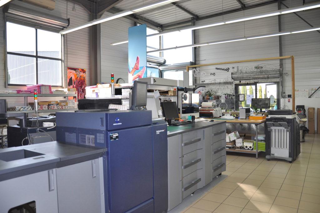 Imprimerie numérique à Nîmes Atelier Nîmes Atelier imprimerie numérique