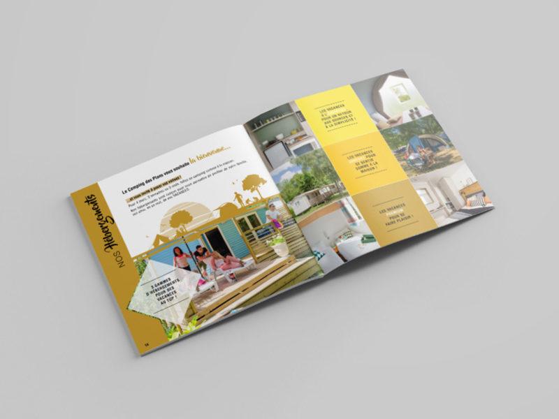 Imprimerie numérique Nîmes Création graphique brochure