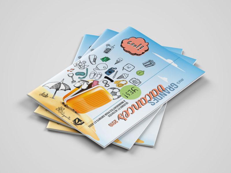 Imprimerie numérique Nîmes Création graphique flyer