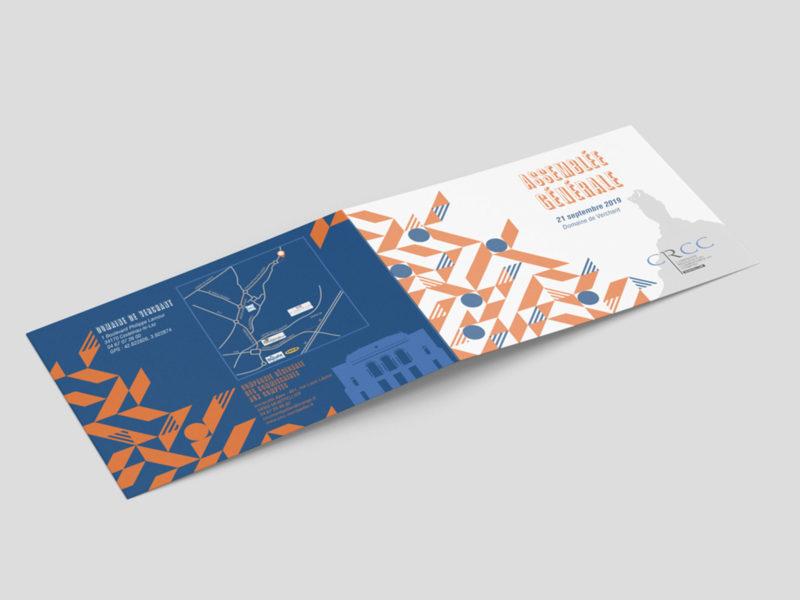 Imprimerie numérique Nîmes Création graphique invitation