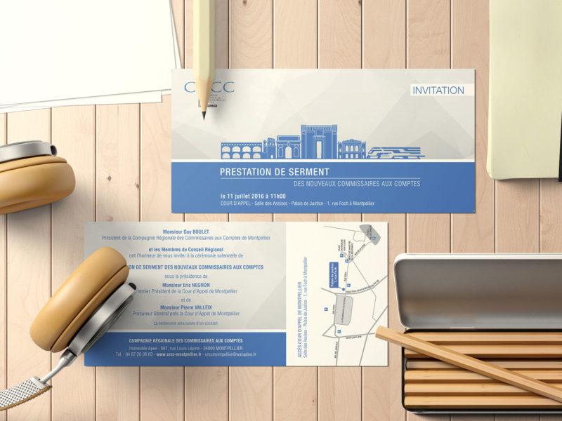 Imprimerie numérique Nîmes Création graphique faire-part