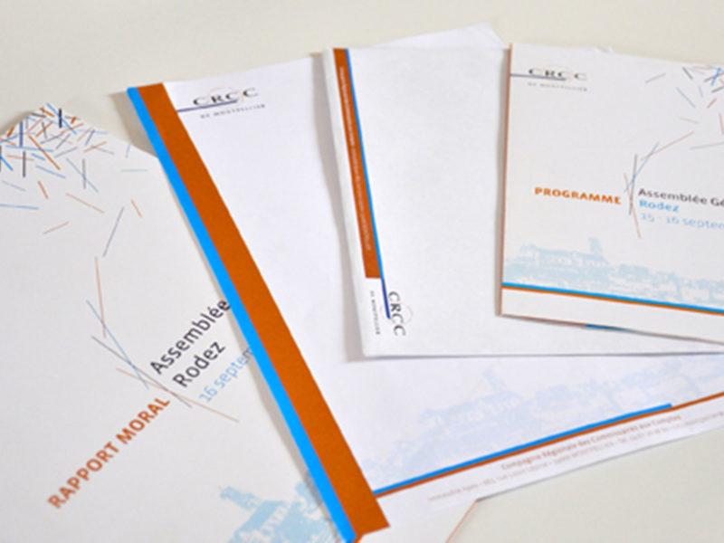 Imprimerie numérique Nîmes Création graphique identité visuelle