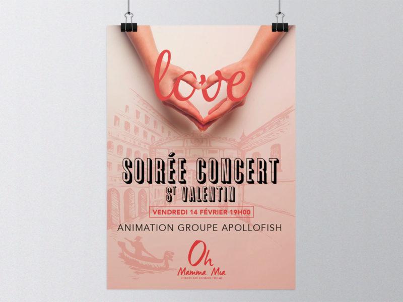Imprimerie numérique Nîmes Création graphique affiche