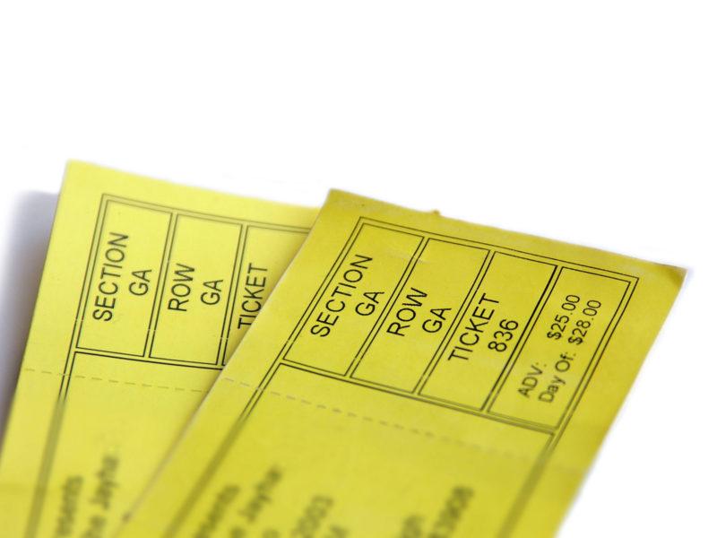 Imprimerie numérique Nîmes Billeterie et ticket