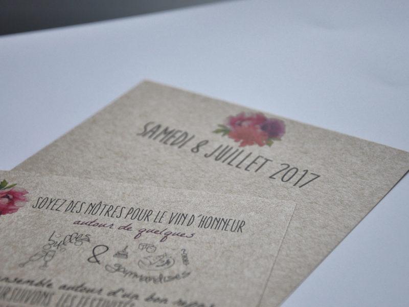 Imprimerie numérique Nîmes Faire-part et invitation