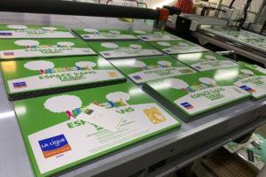 Imprimerie numérique Nîmes panneau alu