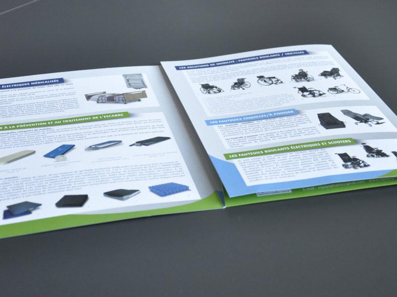 Imprimerie numérique Nîmes Papeterie pochette à rabats
