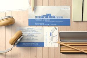 Imprimerie numérique Nîmes Invitation